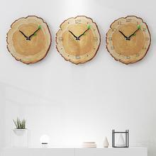 12inch Vintage Wooden Wall Clock Cafe Office Home Kitchen Silent Timepiece Decor Nordic wallclock creative mute clock wood grain creative gear wooden wall clock vintage industrial style clock wooden electronic home decorative wall clock