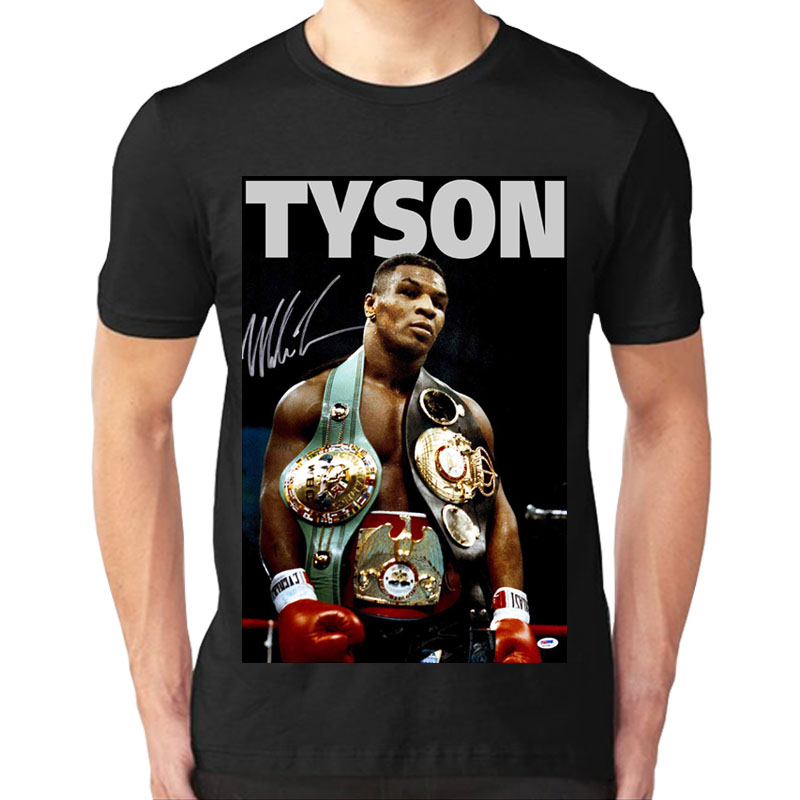 Boxer Mike Tyson Memorializes Boxing T-shirt Boxing Fans'Short Sleeves Unisex T Shirt