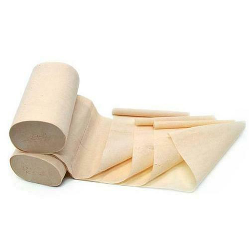 10 Rolls 4Ply Bulk Tissue Natural Bamboo Toilet Paper Household Toilet Soft Skin-friendly Toilet Tissue