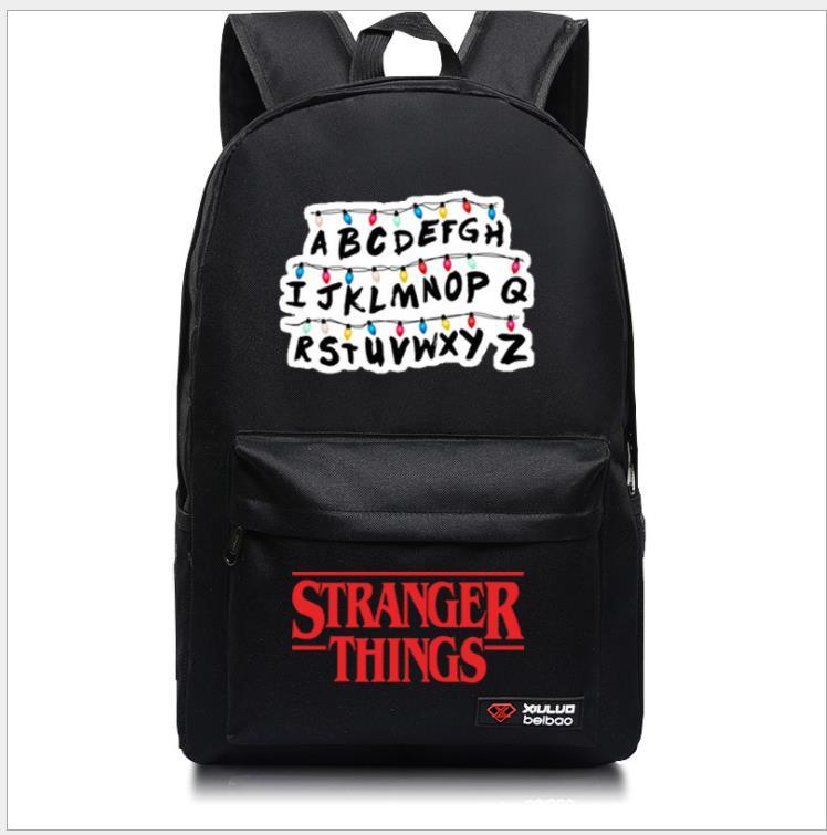 Stranger Things Backpack School Bags Fashion New Pattern Students Boys Girls Rucksack Men Women Laptop Travel Knapsack