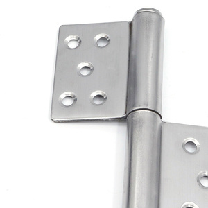 Image 2 - (1 pares) Em Aço Inoxidável Destacável dobradiça, 5 polegada Porta Dobradiça Ferragem Da Mobília (Parafusos Incluídos)