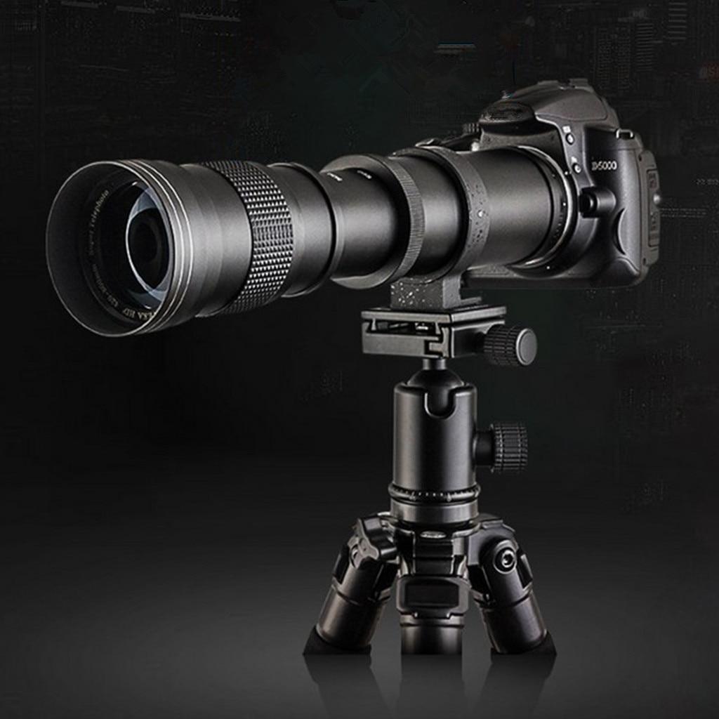 420-800mm F/8.3 HD Super téléobjectif Zoom pour Canon 80D 77D 70D 60D