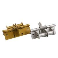 Шарнир для позиционирования пружинный самоустанавливающийся шарнир Автоматическая закрывающая дверная многофункциональная дверная дере...