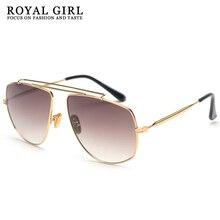 Shades Sunglasses-Style Gradient Fashion Women Alloy UV400 Ss145 Royal-Girl Weird Cat-Eye