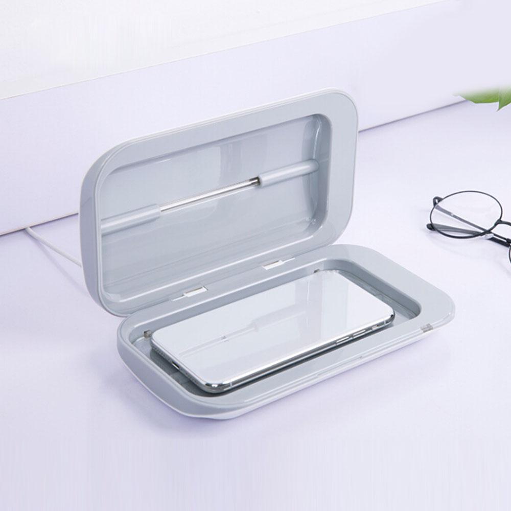 Smart Phone Toothbrush Mask Sanitizer Portable Uv Lights Underwear Disinfection Phone Sanitizer Sterilizer Cleaner For All Phone