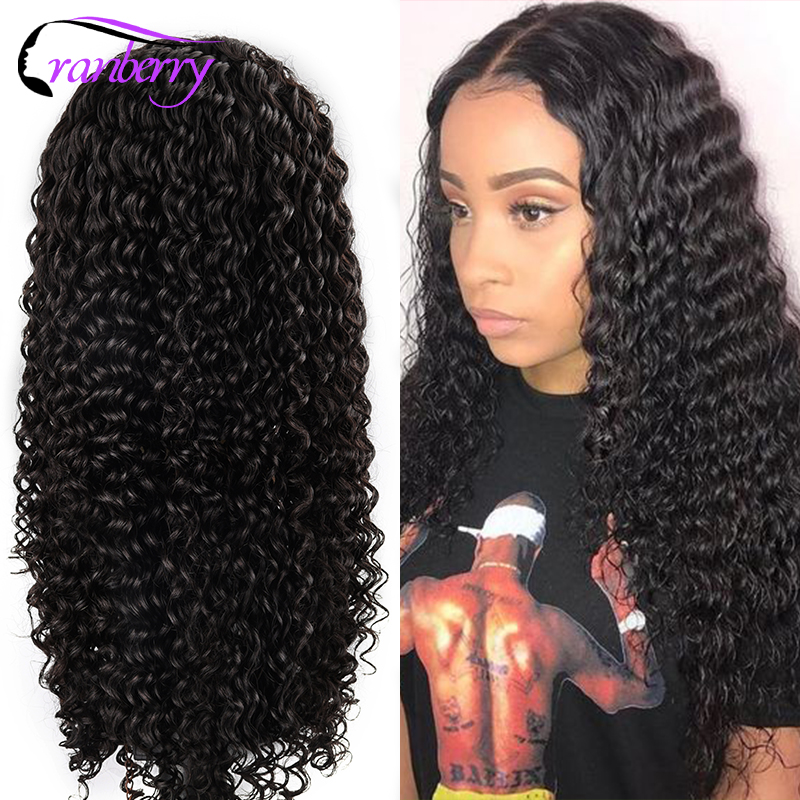 Cranberry Hair Deep Wave Wig 13x6 Lace Front Wigs For Black Women 100% Remy Hair Peruvian Wig 360 Lace Frontal Human Hair Wigs