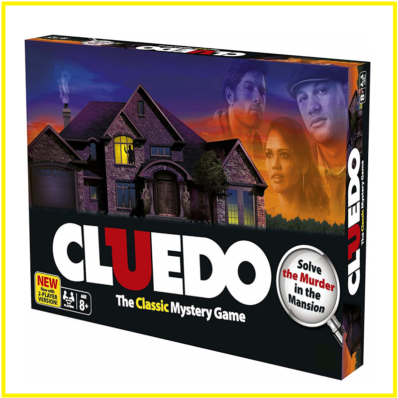 8Age+ Mystery Detective Reasoning Clue Go Game Cluedo Classic Family Board Game English Version