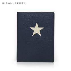 Hiram Beron personalizado nombre gratis cuero pasaporte caso titular hombres diseño viaje caso con star Dropship