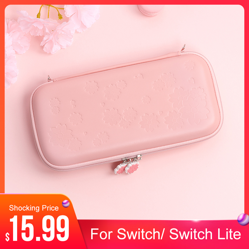 2020 NEW Sakura portable Storage Bag Travel Carrying Case for Nintendo Switch Switch lite game Accessories