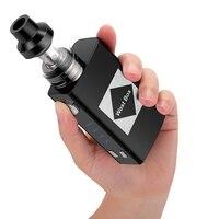 Электронная сигарета V6 Flash Mod Kit 100W1800mah встроенный аккумулятор для 2 мл распылитель электронной сигареты дым вейп для Ijust S