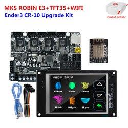 Makerbase MKS Robin E3 panel Ender3 CR 10 jednostki zastępcze 32-bitowy kontroler MKS TFT35 ekran dotykowy MKS TFT WIFI 3d czujnik dotykowy