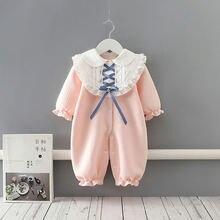 Детская одежда комбинезоны для новорожденных детский плотный