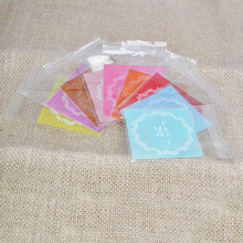 100Pcs 7*7cm Plastic Bags Cookie Candy Gift Packaging Self Adhesive OPP Bag Wedding Birthday Party Decoration Favor Supplies 100pcs opp transparent flat mouth stand up bag snack bread baking packaging plastic gift candy packaging bags