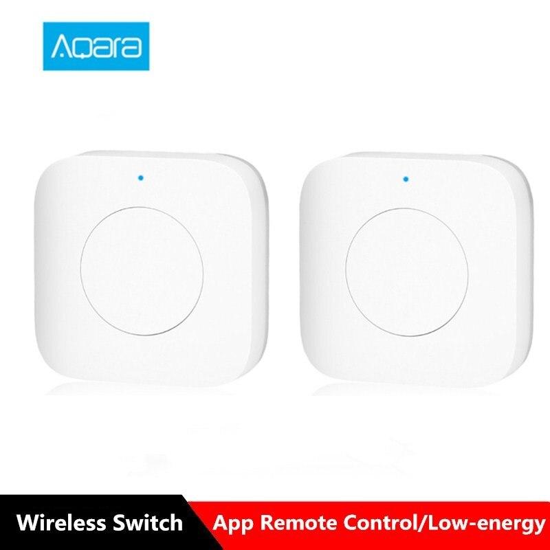 Aqara WXKG12LM Smart Wireless Schalter Intelligente Home App Fernbedienung/Türklingel Internationalen Version