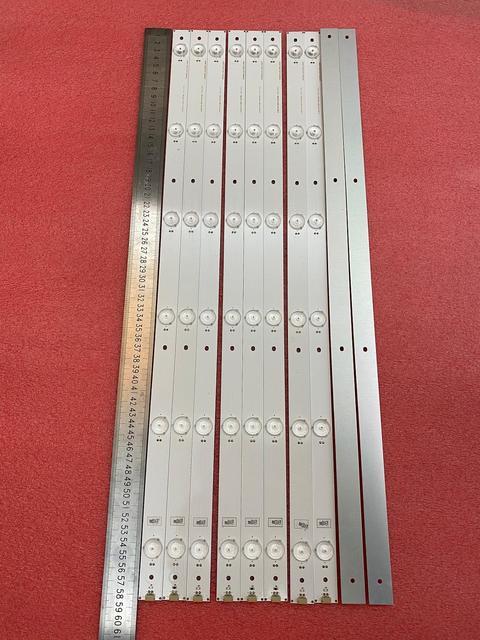Новинка 10 шт./лот Светодиодная лента с 6 светодиодами для подсветки Hisense LTDN55K321 UB55EC591 HD550DU B51 LED55K320U SVH550AF2