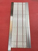 Nowy 10 sztuk/partia 6LED listwa oświetleniowa led dla Hisense LTDN55K321 UB55EC591 HD550DU B51 LED55K320U SVH550AF2