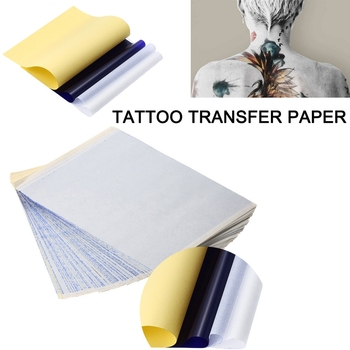 10/20/30/50/100PCSTattoo Transfer Paper, Thermal Stencil Paper for Tattooing to Skin A4 Size for Tattoo Artist and Shops