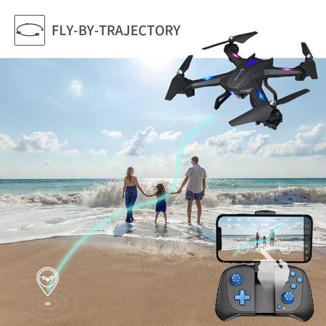 SNAPTAIN SE5CQ Drone WiFi FPV 720P HD drones camera Voice control Gravity Sensor Function RTF drone profissional RC dron 2