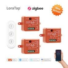 Module de prise de courant sans fil Tuya ZigBee 3.0 Smart Life, interrupteur d'éclairage, Kit de télécommande, fonctionne avec Echo Alexa Google Home Voice Control