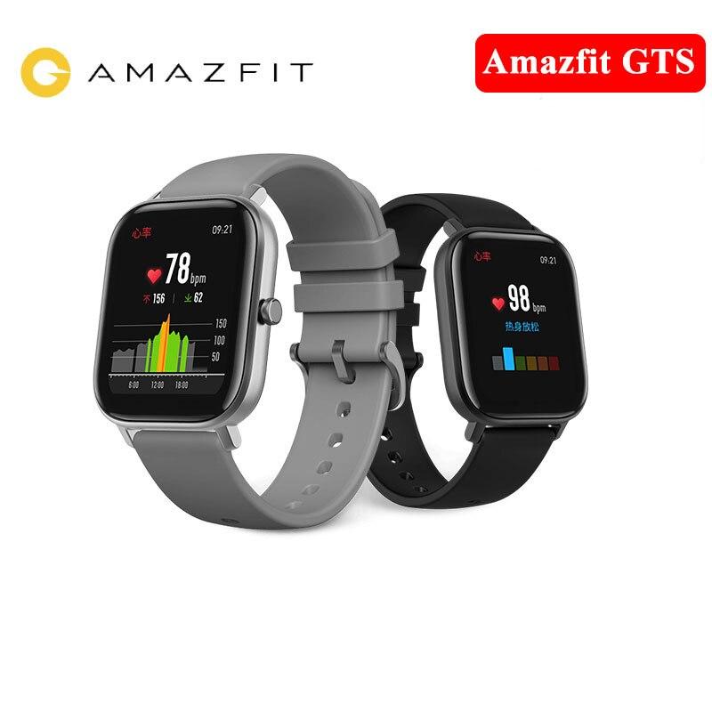 Image 5 - Huami Global Version Amazfit GTS Smart Watch GPS 5ATM Waterproof Smartwatch Health Heart Rate AMOLED 12 SportsSmart Watches   -