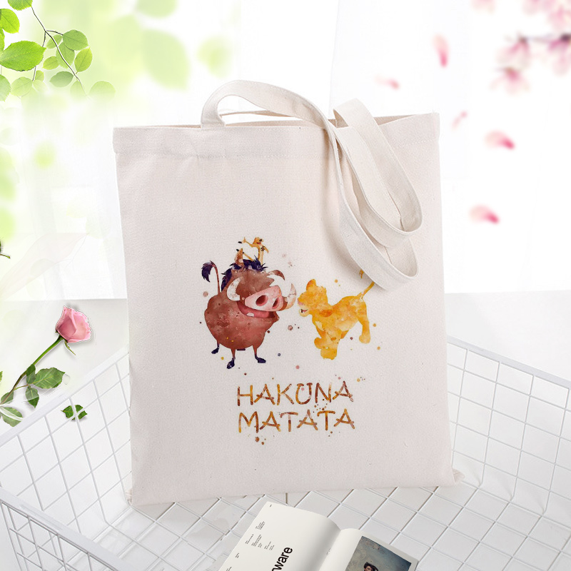 """NEW /""""Lion King/"""" Personalized Tote Bag"""