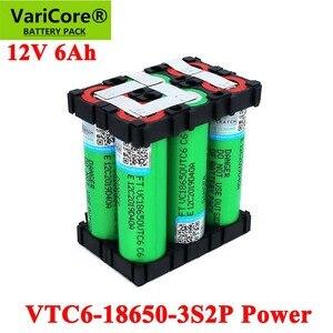 Image 2 - 11.1 فولت/12.6 فولت 18650 فولت VTC6 3s2p 6000 مللي أمبير 20 أمبير ل 12 فولت مفك لاسلكي بطاريات DIY بها بنفسك لحام بطارية حزمة