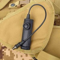 M600 무기 라이트 압력 듀얼 기능 테이프 스위치 airsoft 스위치 m300 m951 m952 m600 손전등