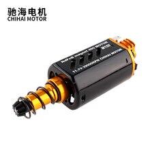 Chihai motor CHF-480WA-8514T CNC M150 N35 Nd-Fe-B high speed AEG Motor Lange Achse für Airsoft Gel blaster Motor freies lieferung