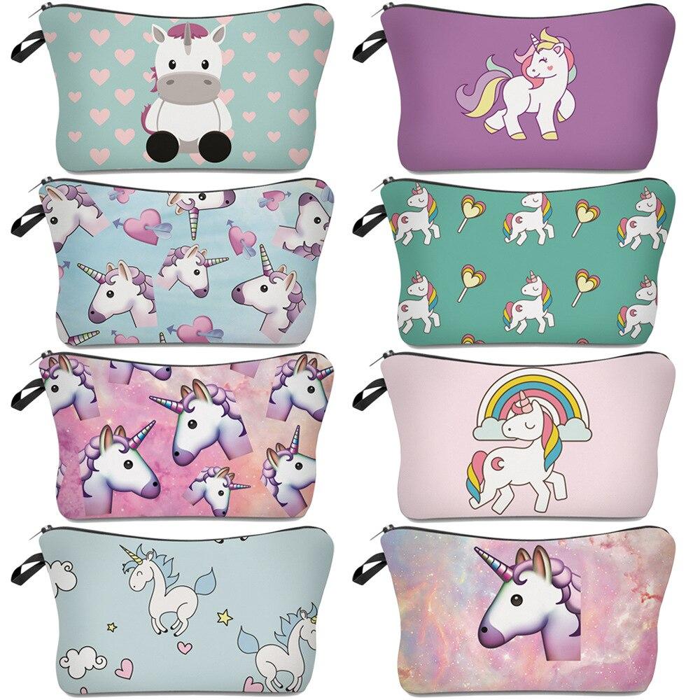 unicorn pencil cases kawaii estuches escolares material escolar papelaria lapicero escritorio trousse licorne etui school