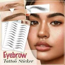 2020 Pair Eyebrows Tattoo Sticker