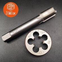 M27 M28 M29 M30 máquina padrão torneira reta sulco torneira placa circular morrer conjunto de ferramentas de mão rodada tocando morrer tocando kit fio