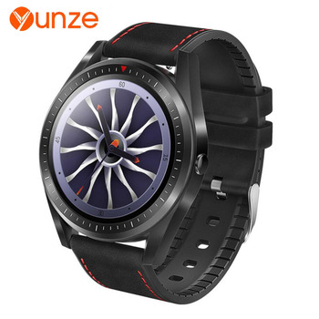 YUNZE F23 smart watch men heart rate blood pressure blood oxygen movement information reminder IP67 waterproof Smartwatch