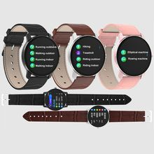 T90 Smart Wristbands Sports Heart Rate Waterproof Round Full Touch Multifunctional Monitoring Information Push Notifications