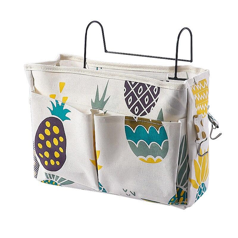 Bedside Hanging Organizer Storage Bag Multi-Pocket Holder Storage Bag For Home Dormitory Bed Bunk Hospital Bed Rails