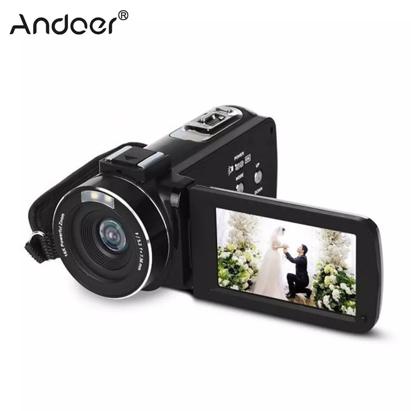 Professional Digital Camera 1080P Full HD Night Vision 3.0in LCD Screen Cameras Video Camcorder Mini DV Home Cam