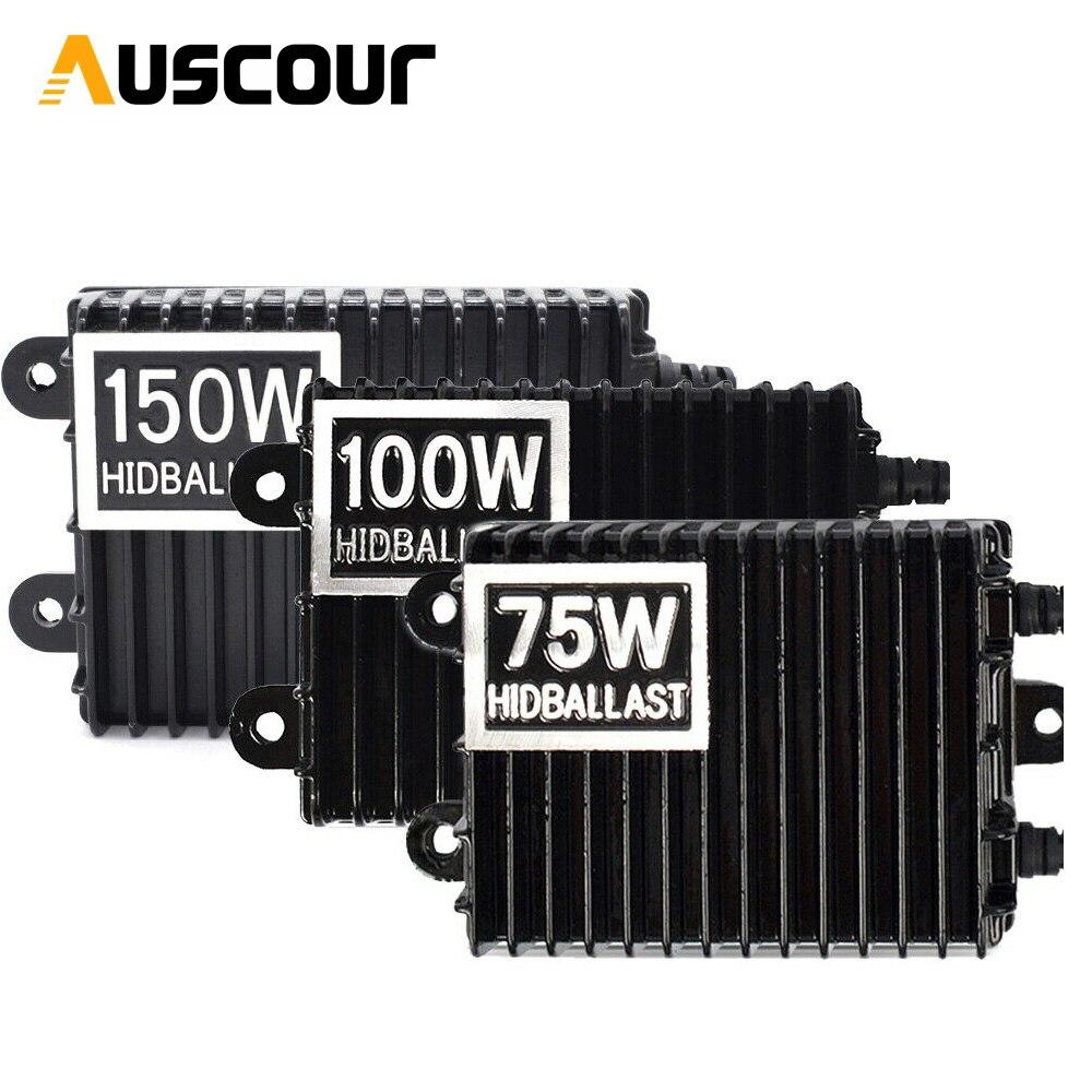 1PC 75W 100W 150W HID Xenon Lastro H1 H3 H7 H8/H9/H11 9005/HB3 9006/HB4 Xenon Kits