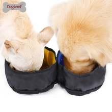 Водонепроницаемая дорожная собачья миска для домашних животных