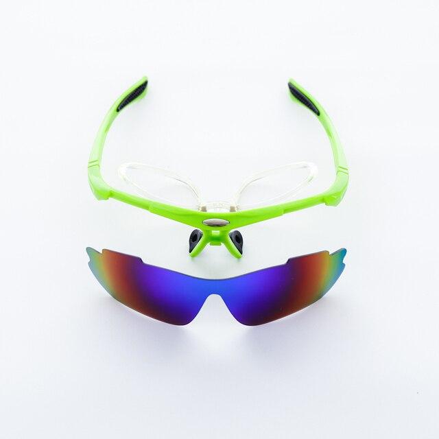 Uv400 miopia esporte ciclismo óculos das mulheres dos homens esportes ao ar livre mountain bike óculos de corrida 2