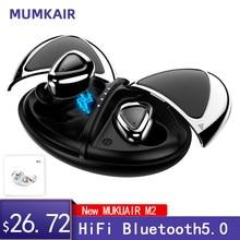 Tws sem fio bluetooth in-ear fone de ouvido redução de ruído bluetooth estéreo esportes à prova dwaterproof água adequado para menina super mini fones de ouvido