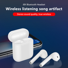 I8X TWS Wireless Bluetooth Headset Binaural Stereo 5.0 mini Sport With 450 mAh Changing Bin For Smartphone