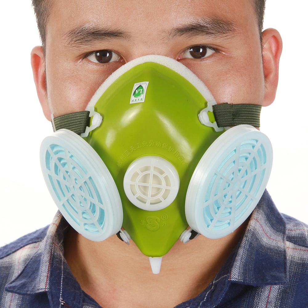 High Grade Spray Anti-Dust Respirator Dust Protecting Mask Gas Safety Chemical Paint Spray Mask