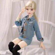 Nova Chegada de Fadas Shuga Laura кукла Boneca BJD bjd 1/4 Nu Corpo Fashion Dolls Para Presente de aniversário