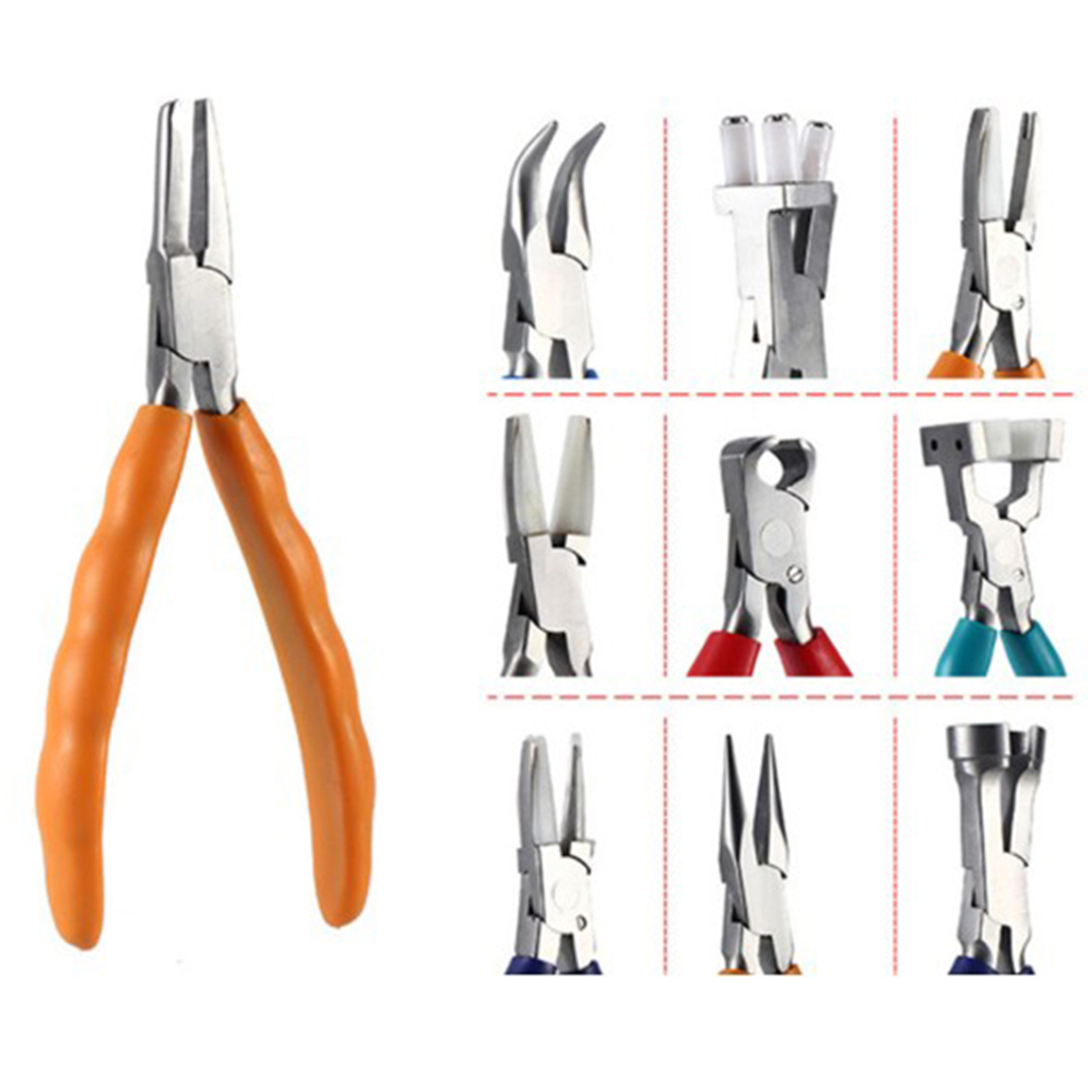 10types Pliers Optical Repair Pliers Tools Eyeglasses Tool