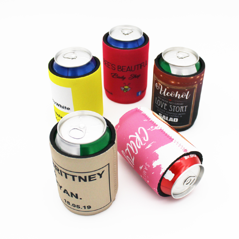 100 Pieces Personalise your Logo Neoprene Stubby Coolers Beer Stubby Holder Can Cooler Bag With Base Cheapest Cost Escrow Accept in Cooler Bags from Luggage Bags