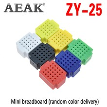 Aeak ZY-25 Pcb Breadboard Punten Solderless Mini Universele Test Protoboard Diy Kit Broodplank Voor Arduino Lego(China)