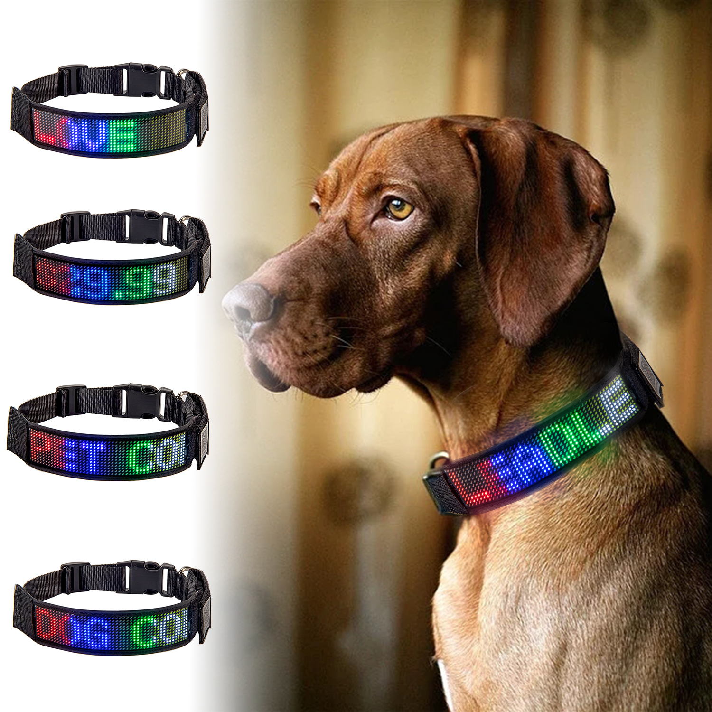 NONMON Collar LED Luz Perro,Clip-on Led Collares Luz de Seguridad,Luminoso Impermeable Luz Bombilla para Mascotas Gato Perro,Ciclismo Camping Caminar por la Noche