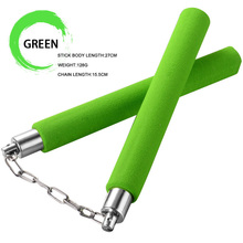 Foam-Nunchaku Sponge-Stick Martial-Arts-Products Training Chain for Beginners Safety