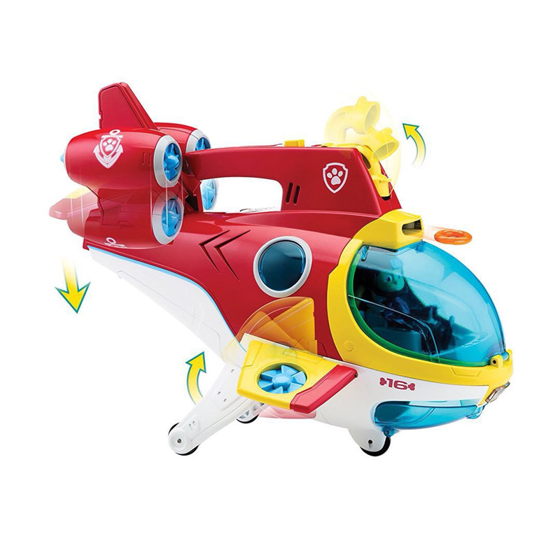 Paw Patrol Toys Set Anime Figure/action Figure Rescue Submarine Patrol Paw Toy Action Figures Paw Patrol Birthday Toys Gifts