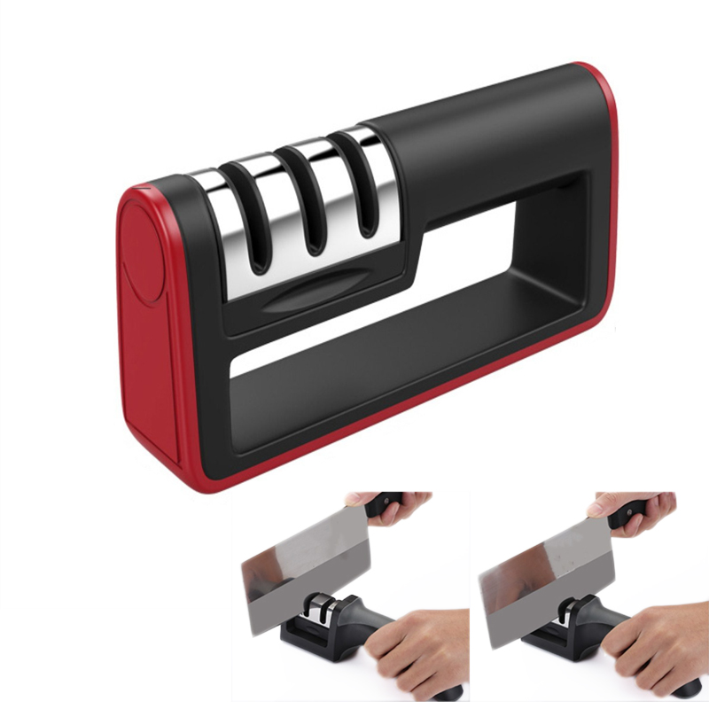 Aiguiseur De Couteaux Мануэль шеф-повара точилка для ножей точильный камень шлифовальные ножи кухонные походные Точилки инструменты