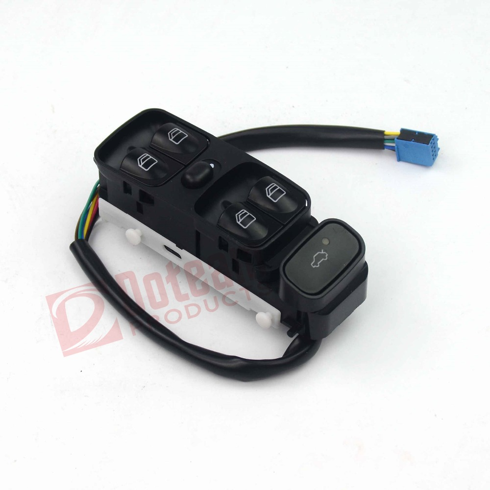 Power Window Control Switch Console Button For Mercedes-Benz C-Class <font><b>W203</b></font> C180 C200 C220 C230 C240 <font><b>C270</b></font> C280 C320 2038210679 image